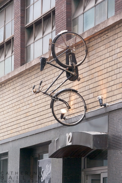 Bike up a wall | Catherine Bailey Photography