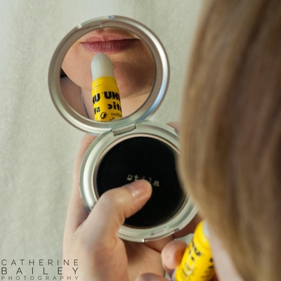 Glue lipstick | Catherine Bailey Photography