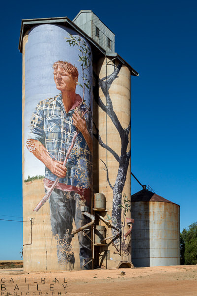 Silo Art Trail - Patchewollock | Catherine Bailey Photography