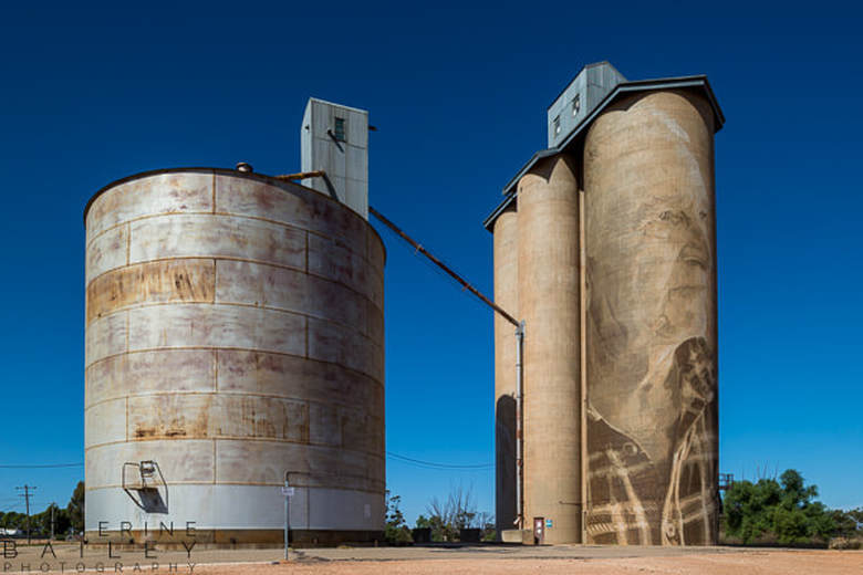 Silo Art Trail - Lascelles | Catherine Bailey Photography