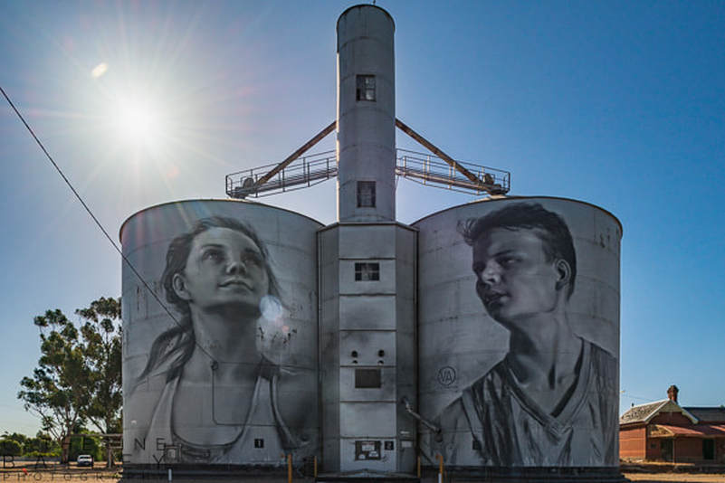Silo Art Trail - Rupanyup | Catherine Bailey Photography