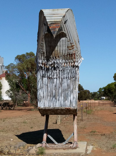 Mallee Fowl sculpture | Catherine Bailey Photography