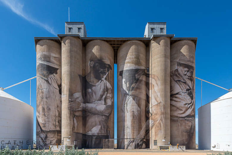Silo Art Trail - Brim | Catherine Bailey Photography